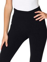American Apparel Women's Cotton Spandex Jersey Straight Leg Yoga Pant