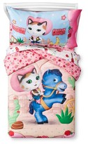 Disney Sheriff Callie Comforter Set (Toddler) Pink