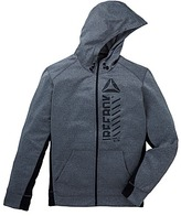Reebok Full Zip Poly Fleece Hoody