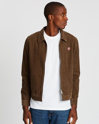 Deus Ex Machina Men's Brown Jackets - Marcus Cord Jacket - Size One Size, L at The Iconic