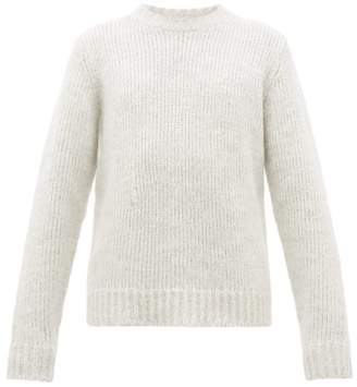 Helmut Lang Ghost Wool Blend Sweater - Mens - Grey