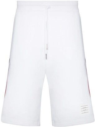Thom Browne Side-Stripe Track Shorts