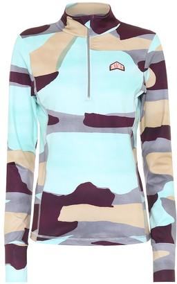 Jet Set Ginger camouflage soft-shell jacket