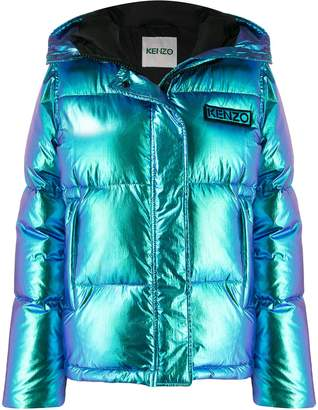 Kenzo Holiday Capsule hooded puffer jacket