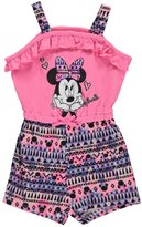"Disney Minnie Mouse Baby Girls' ""Model Minnie"" Romper"
