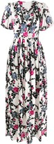 Thumbnail for your product : La DoubleJ Persephone Puff Sleeve Floral Dress