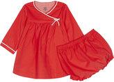 Petit Bateau Two-piece cotton dress and bloomer set 1-12 months