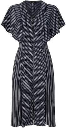 Ted Baker Flissie Striped Midi Dress
