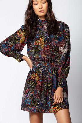 Zadig & Voltaire D-Ross Print Dress