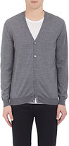 Zanone MEN'S FLEXWOOL CARDIGAN-GREY SIZE M