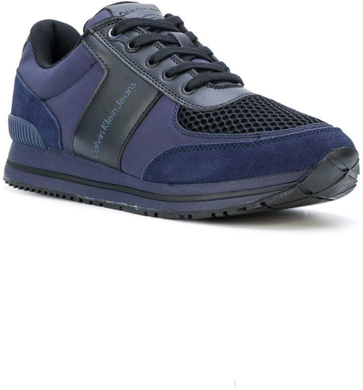 Calvin Klein Jeans panelled sneakers