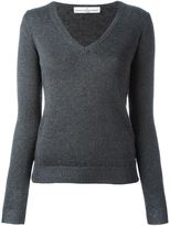 Golden Goose Deluxe Brand v-neck jumper - women - Polyamide/Polyester/Acetate/Merino - S
