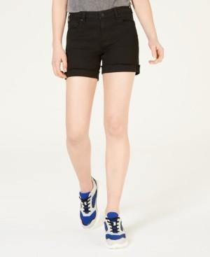 Celebrity Pink Juniors' Cuffed Denim Shorts