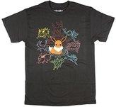 Pokemon Mono Eeveeloutions Eevee T-shirt