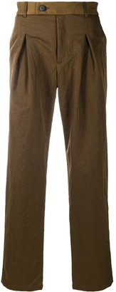 A-Cold-Wall* Pleated Straight-Leg Trousers