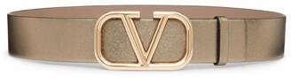 Valentino Garavani Metallic VLOGO Belt