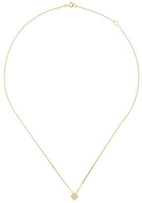 Noor Fares Solid Cube pendant necklace