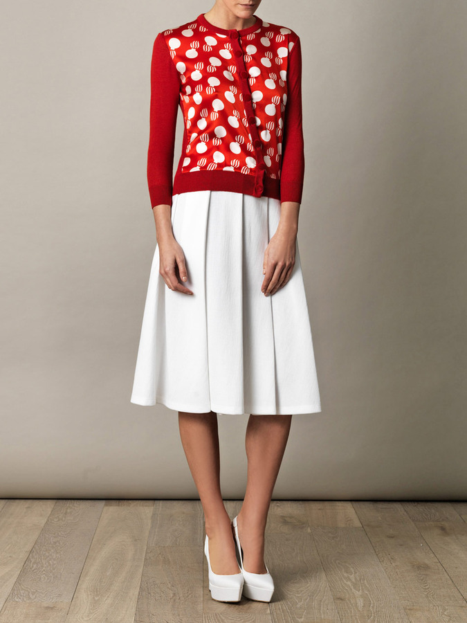 L'Wren Scott The bomb-print cardigan