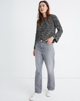 Madewell The Dadjean in Pale Grey