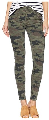 Hudson Jeans Barbara High-Waist Ankle Skinny in Deployed Camo