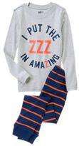 Crazy 8 ZZZ in Amazing 2-Piece Pajama Set