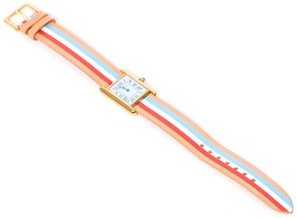 La Californienne Vintage Watch in Pastel Bleu/Liberty