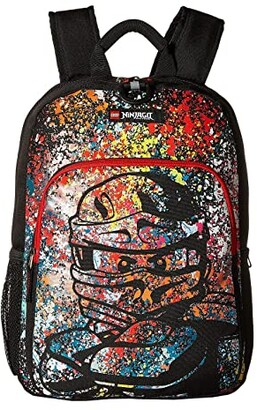 Lego Ninjago(r) Spraypaint Heritage Classic Backpack (Black) Backpack Bags