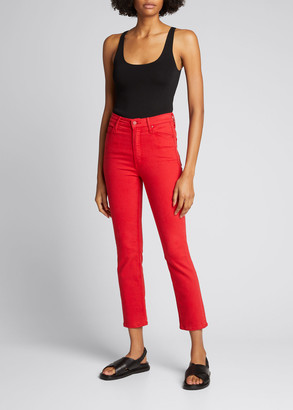 Mother The Dazzler Ankle Skinny Jeans