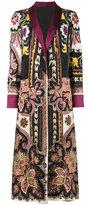 Etro Reversible robe coat - women - Silk/Spandex/Elastane/Viscose/Wool - 42