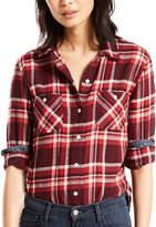 Levi's Levis Women's Workwear Plaid Button-Down Shirt