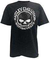 Harley-Davidson Men's T-Shirt, Hand Made Willie G Skull Distressed 30294030 (XL)