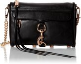 Rebecca Minkoff Mini MAC Convertible Cross-Body Bag,Black