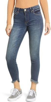 STS Blue Fray Hem Crop Skinny Jeans