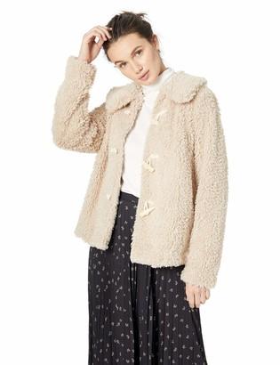 Kensie Women's Teddy Fur Jacket