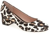Topshop 'Juliette' Genuine Calf Hair Pump (Women)