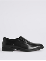 M&S Collection Big & Tall Tramline Slip-on Shoes