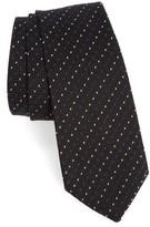 Paul Smith Men's Dot Stripe Silk Tie