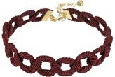 Vanessa Mooney Red Wine Choker Necklace