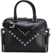 Diesel studded shoulder bag - women - Calf Leather - One Size