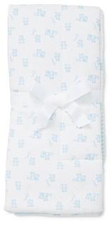 Little Me Boys' Bear Print Reversible Blanket - Baby