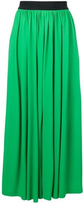 MSGM Pleated Maxi Skirt