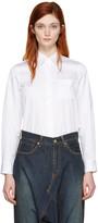 Junya Watanabe White Twill Shirt