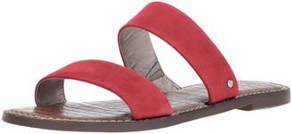 Sam Edelman womens Gala Flat Sandal Brown Multi 8.5 M
