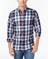 Tommy Hilfiger Men's Twill Plaid Shirt