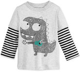 First Impressions Layered-Look Graphic-Print T-Shirt, Baby Boys (0-24 months), Only at Macy's