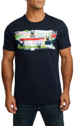 Psycho Bunny Paintbrush Graphic T-Shirt