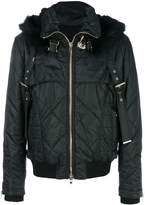 Balmain Marmot fur-trimmed quilted jacket