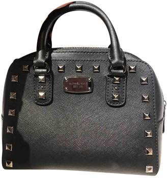 Michael Kors Black Leather Handbags