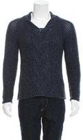 Emporio Armani Virgin Wool Crew Neck Sweater w/ Tags