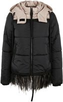 N°21 N.21 No21 Fringed Detail Down Jacket